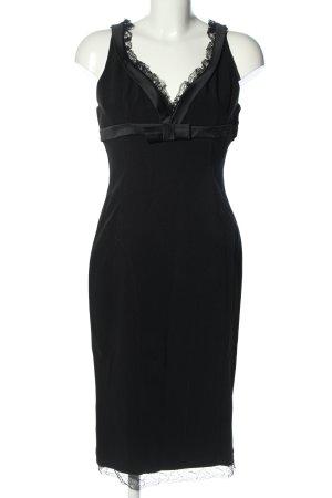 Dolce & Gabbana Midikleid schwarz Elegant