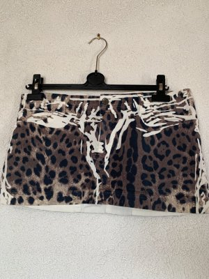 Dolce & Gabbana Mini Rock im Animal Print / Leopardenmuster