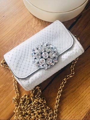Dolce & Gabbana mini Tasche aus Python Leder
