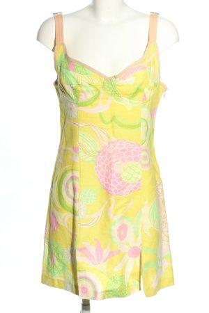 Dolce & Gabbana Minikleid abstraktes Muster Casual-Look