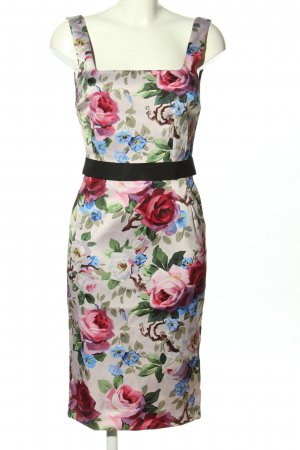 Dolce & Gabbana Minikleid Allover-Druck Elegant