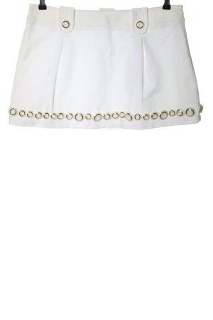 Dolce & Gabbana Minirock weiß Casual-Look