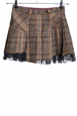 Dolce & Gabbana Minirock Karomuster Casual-Look