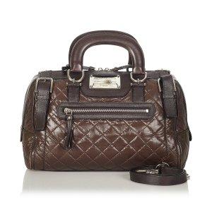 Dolce & Gabbana Handbag dark brown leather