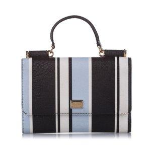 Dolce&Gabbana Miss Sicily Leather Satchel