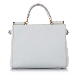 Dolce & Gabbana Satchel white leather