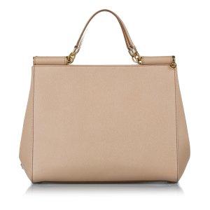Dolce & Gabbana Satchel beige leather