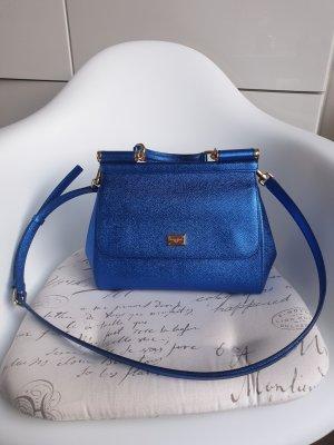 Dolce&Gabbana Missicily blau metalic medium