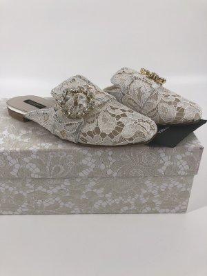 Dolce&Gabbana NEU Pantoletten Gr-36,5