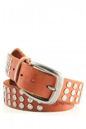 Dolce & Gabbana Studded Belt light orange casual look