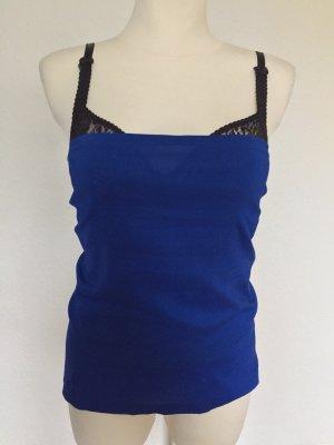 Dolce & Gabbana Sleeveless Blouse blue-black