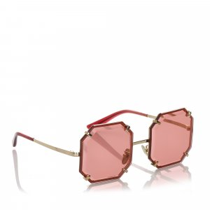 Dolce&Gabbana Octagonal Tinted Sunglasses