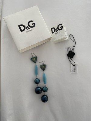 Dolce & Gabbana Pendientes de perlas multicolor