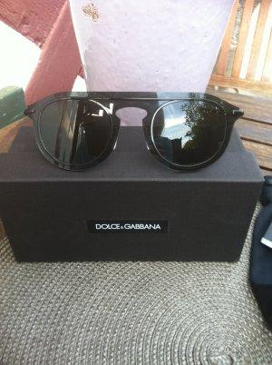 Dolce & Gabanna Pilotenbril zwart Gemengd weefsel