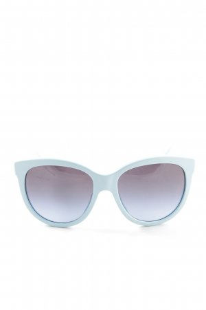 Dolce & Gabbana Oval Sunglasses blue casual look