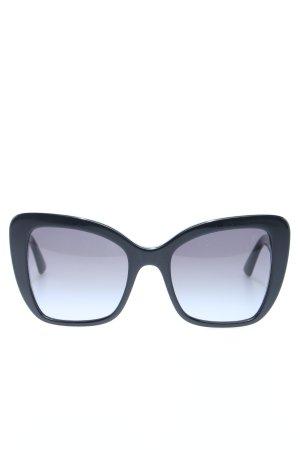 """Dolce & Gabbana ovale Sonnenbrille """"DG 0DG4348 54 501/8G"""" schwarz"""