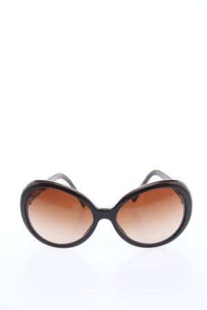 Dolce & Gabbana ovale Sonnenbrille braun Casual-Look