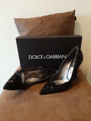 Dolce&Gabbana Pailletten-Pumps