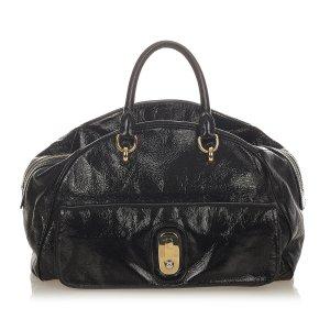 Dolce & Gabbana Sacoche noir faux cuir