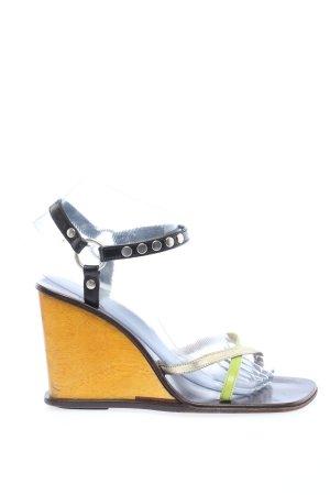 Dolce & Gabbana Plateau-Sandaletten mehrfarbig Casual-Look