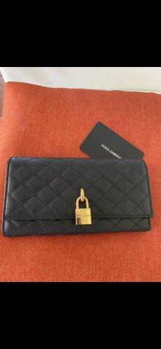 Dolce & Gabbana Portmonetka czarny-złoto