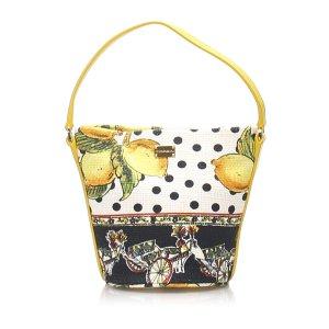 Dolce&Gabbana Printed Canvas Handbag