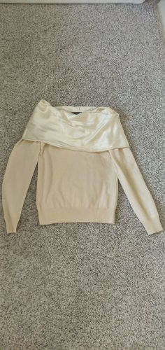 Dolce & Gabbana Kaszmirowy sweter w kolorze białej wełny
