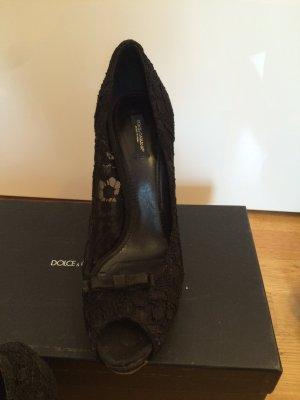 Dolce&Gabbana Pumps aus Spitze in Größe 41