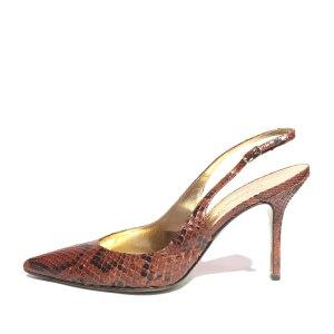 Dolce&Gabbana Python Slingback Pump