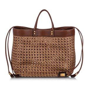 Dolce&Gabbana Raffia Tote Bag