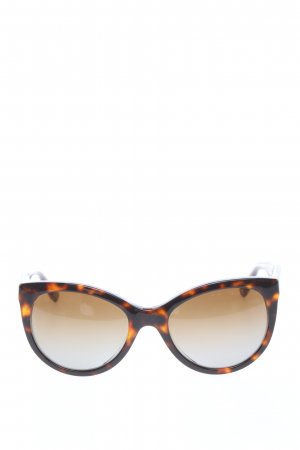 Dolce & Gabbana Retro Glasses black-light orange abstract pattern elegant