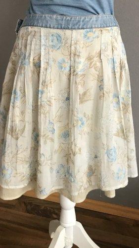 Dolce & Gabbana Spódnica maxi kremowy-błękitny
