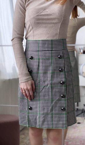 Dolce & Gabbana Pencil Skirt black-white