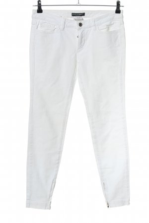 Dolce & Gabbana Tube Jeans white casual look