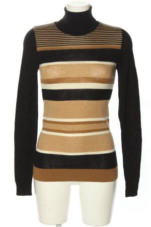 Dolce & Gabbana Jersey de cuello alto estampado a rayas look casual