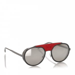 Dolce&Gabbana Round Mirror Sunglasses
