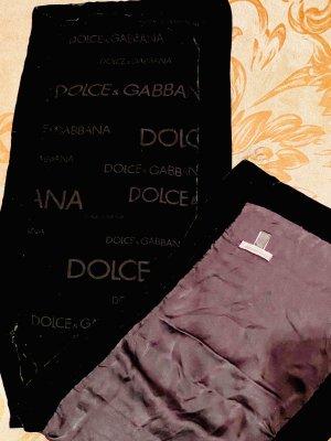 Dolce & Gabbana Bufanda arrugada negro