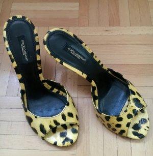 Dolce & Gabbana Sandalen Leopard Schuhe Sandalen