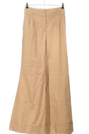 Dolce & Gabbana Pantalón de campana marrón look casual