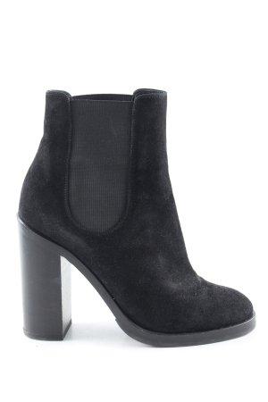 Dolce & Gabbana Schlüpf-Stiefeletten schwarz Casual-Look