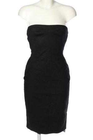 Dolce & Gabbana schulterfreies Kleid schwarz Elegant
