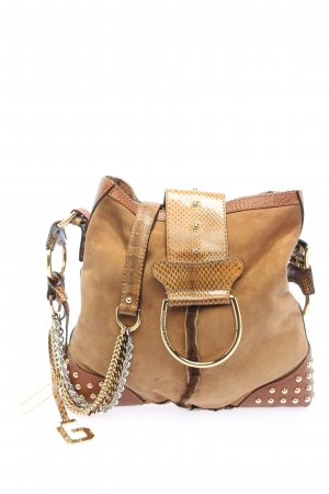 Dolce & Gabbana Schultertasche nude-goldfarben Casual-Look