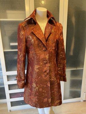 Dolce & Gabbana Frock Coat carmine-bordeaux silk