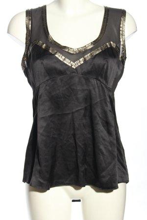Dolce & Gabbana Zijden blouse zwart elegant