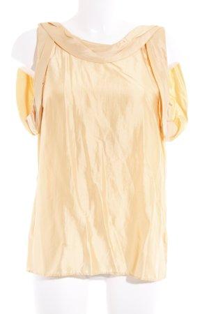 Dolce & Gabbana Seidenbluse apricot Casual-Look