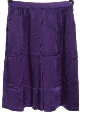 Dolce & Gabbana Jedwabna spódnica fiolet W stylu casual
