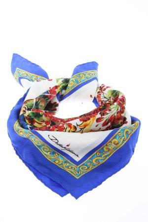 Dolce & Gabbana Seidentuch Motivdruck Casual-Look