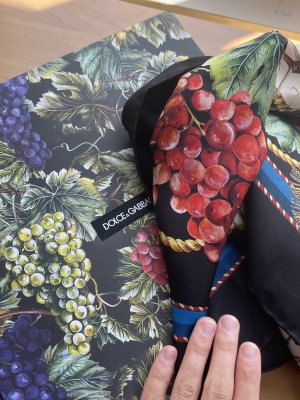 Dolce & Gabbana Silk Cloth multicolored silk