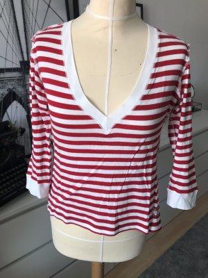 Dolce & Gabbana V-Neck Shirt multicolored cotton