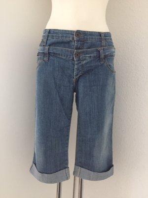 Dolce & Gabbana Pantaloncino di jeans blu